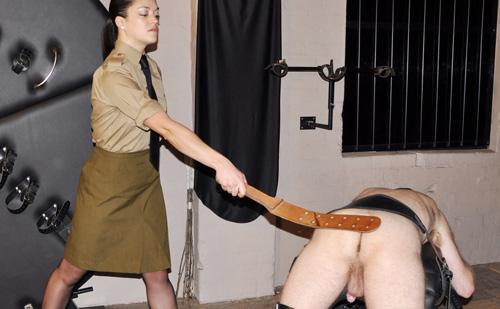 Femdom punishment
